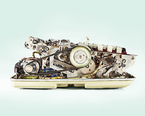 The Inner Workings of Antique Calculators Dramatically Photographed by Kevin Twomey   Books, Photo, Video and Film   Scoop.it