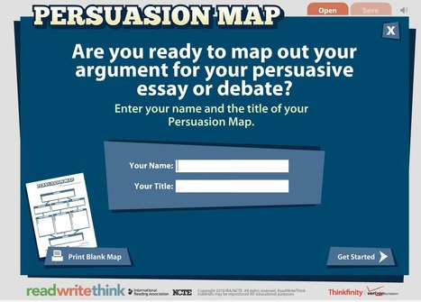 Enhance Students Writing Style with This Free Interactive Visual Map ~ Educational Technology and Mobile Learning | My favourite ESL Resources | Scoop.it