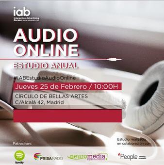 IAB presenta su segundo informe sobre consumo de audio online (25 fev) | GORKA ZUMETA | Radio 2.0 (Esp) | Scoop.it