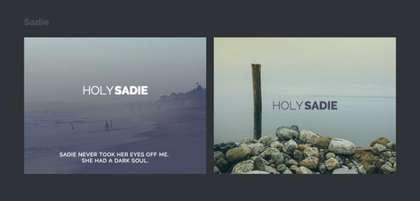 Ideas for Subtle Hover Effects | Web Development | Resources | Inspirations | Scoop.it