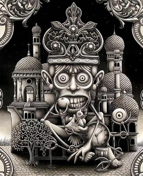 Ilustración y Diseño: Joe Fenton   El Mundo del Diseño Gráfico   Scoop.it
