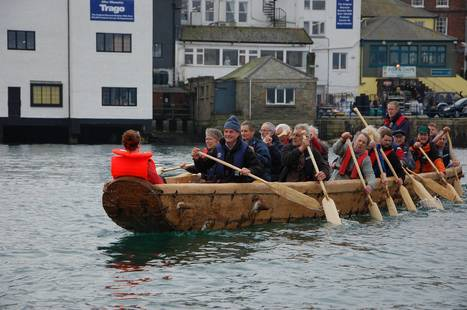 It didn't sink! Full-size, sewn-together replica of a Bronze Age boat launched to trials success | Archaeology News | Scoop.it