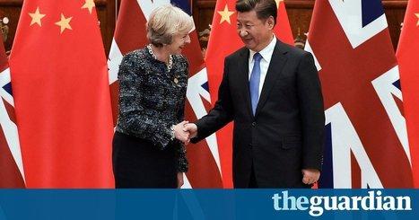 Steel dumping not on agenda as Theresa May meets Xi Jinping | China: Pre-U Economics | Scoop.it