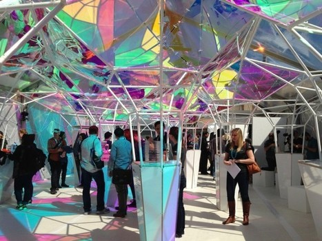 Art and tech meet under a kaleidoscope of brilliant hues at SXSW | Technological Sparks | Scoop.it