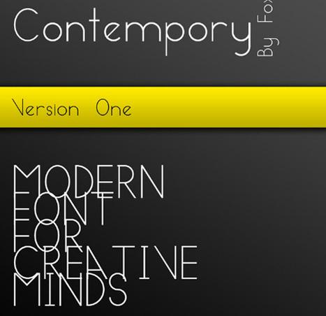 37 Fantastic Free Fonts for Web and Graphic Design | Crazy Pixels | Communication - Viralité | Scoop.it