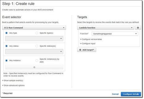 EC2 Run Command Update – Monitor Execution Using Notifications | Software Development News and Influencers | Scoop.it