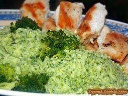 Piept de pui cu piure de broccoli | Food and recipes | Scoop.it