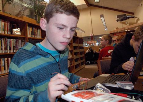 Library helps kids 'Explore Arduino' - Arlington Times | Arduino, Netduino, Rasperry Pi! | Scoop.it