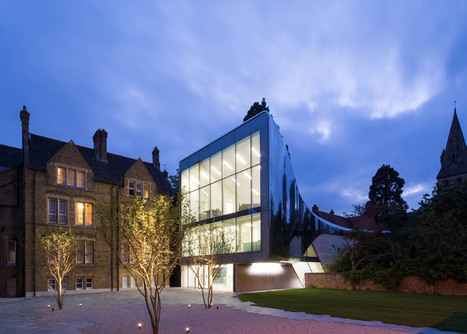 Zaha Hadid adds a shimmery steel tunnel to an Oxford University college | Inspired By Design | Scoop.it