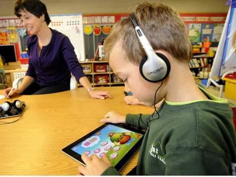 iPads, not chalkboards | iPads in Kindergarten | Scoop.it