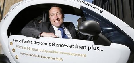 Insolite : À Marseille, un chômeur habille une voiture avec son CV pour trouver un emploi | My blog, Xavier Delaporte Photographie | Scoop.it