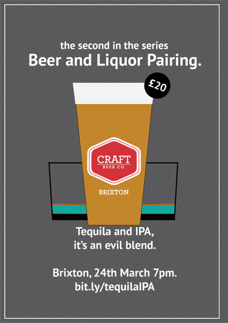 Liquor and Beer: Tequila and IPA | The Craft Beer Co. | GIVEN Ultra Premium Tequila Liqueur | Scoop.it
