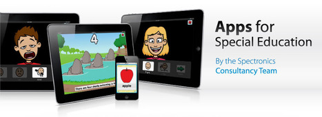 Our apps for Special Education list is HERE!!! | The Spectronics Blog | Tablets in de klas | Scoop.it