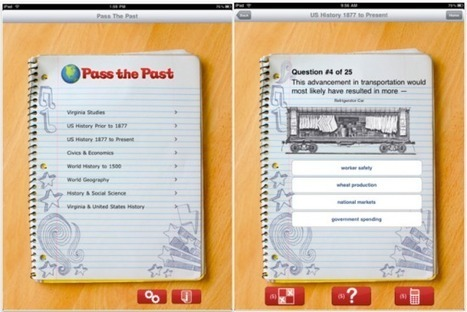 Pass the Past - A History Review App | history class | Scoop.it