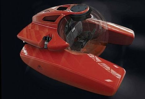 Speedy Personal Submarines : two-person submarine | ScubaObsessed | Scoop.it