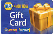"""Buy Discounted NAPA Gift Cards 