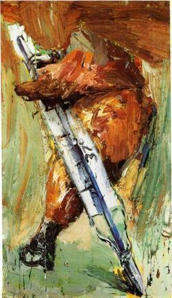 Neo-Expressionist Power Chords | Painters' Table | Contemporary Art hh | Scoop.it