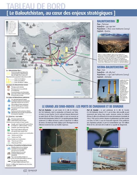 Infographie : Le Baloutchistan au cœur des enjeux stratégiques (Diplomatie)   geoinformação   Scoop.it