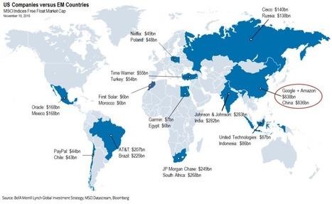 Las corporaciones estadounidenses son más grandes que los mercados financieros de países enteros (MAPA) | Activismo en la RED | Scoop.it