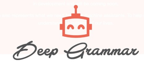 Deep Grammar - Grammar checker | Create: 2.0 Tools... and ESL | Scoop.it