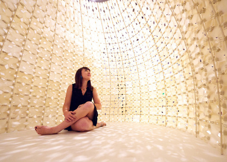 Pavilion made of 3D-printed salt by Emerging Objects | design ... | Machinimania | Scoop.it