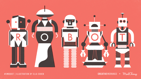 David St-Onge   Conférence CreativeMornings/QC /// #Robot #Robotics   Digital #MediaArt(s) Numérique(s)   Scoop.it