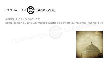 Appel à candidature 5ème édition du prix Carmignac Gestion du ... | art move | Scoop.it