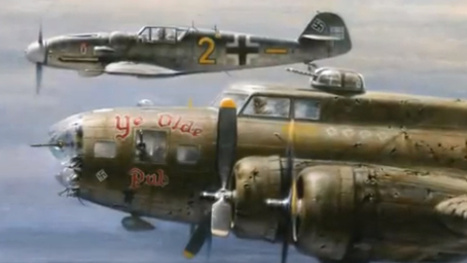 Why A German Pilot Escorted An American Bomber To Safety During World War II   Possibilities   Scoop.it