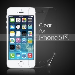 Clear Front Screen Protector for Apple iPhone 5S - Witrigs.com | Do iphone 5s need screen protectors | Scoop.it