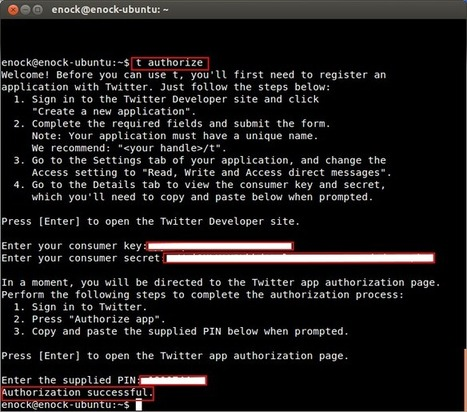 How To Access Twitter Via Command Line (Terminal) | Unixmen | Info[SEC*] Redemption | Scoop.it