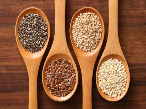 Les 10 graines excellentes pour la santé - Madame Figaro | Tu es ce que tu manges ! | Scoop.it
