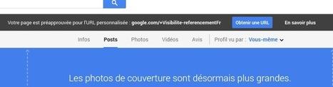 Google+: url personnalisée pour tous les profils et pages | référencement naturel, ChrisKatDev | Scoop.it