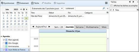 l'agenda dans Thunderbird | Mozilla | Communication électronique | Scoop.it