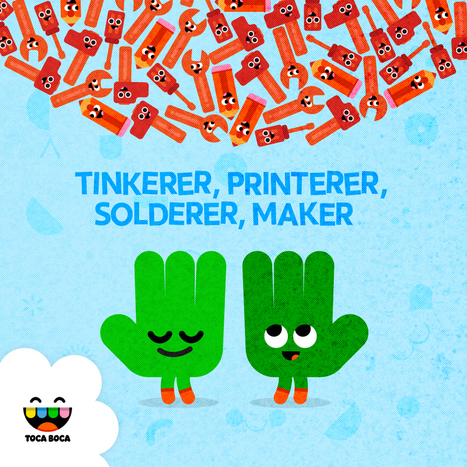 6 Great Online Resources for Maker Kids | A new way to play | Toca Boca | iPads in Education | Scoop.it