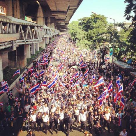 Bangkok: manifestations contre l'amnistie | Tigersushi | Scoop.it