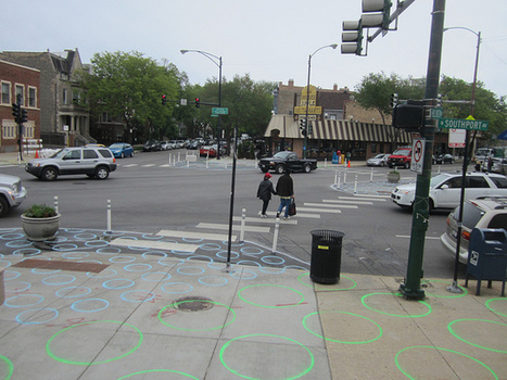Eyes on the Street: Seeing Spots at the Lincoln Hub | Streetsblog Chicago | Tier lieu, Ville ludique «» PlaceMaking | Scoop.it