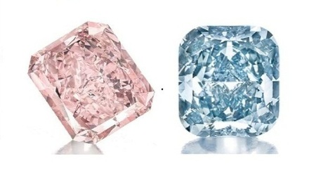 Two Colored Diamonds Brings $10.3M at Auction - American Hard Assets | investment diamonds | Scoop.it