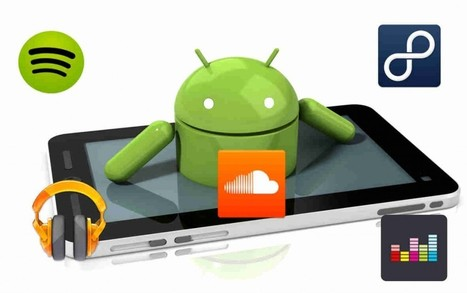 Top 5 des applications Android de streaming musical | AileR | Scoop.it
