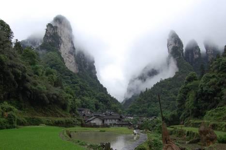 A village in Zhangjiajie National Forest Park | Unique Places | Scoop.it