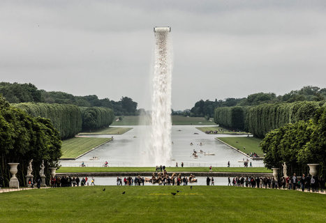 Olafur Eliasson Installs Waterfall at Versailles - Design Milk | CLOVER ENTERPRISES ''THE ENTERTAINMENT OF CHOICE'' | Scoop.it