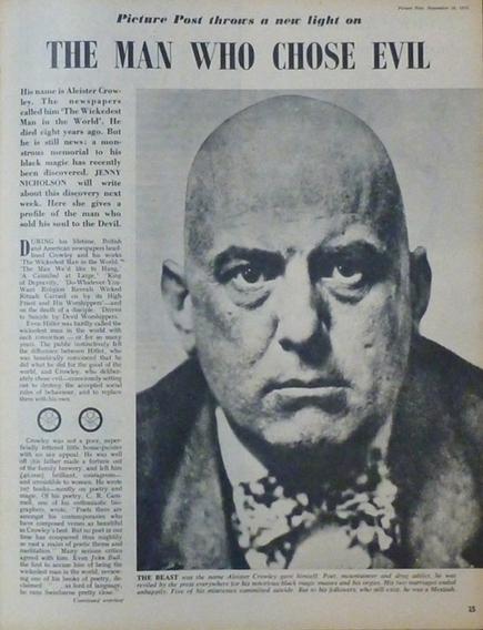 Weiser Antiquarian Used and Rare Books. Aleister Crowley: A Selection of Used and Rare Books and Ephemera. | Nexus Vortex | Scoop.it