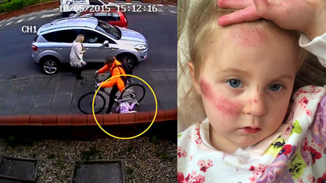 Cyclist knocked girl, 3, over 'then didn't bother to stop to check on her' | Revue de web de Mon Cher Vélo | Scoop.it