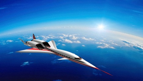 HyperMach Supersonic Bizjet Grows Larger, Speed Boosted to Mach 4.5 - Aviation International News | Aviation News Feed | Scoop.it