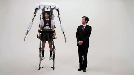 Japan's robot suits now closer to reality with Power Jacket MK3 | Robotic Suits | Scoop.it