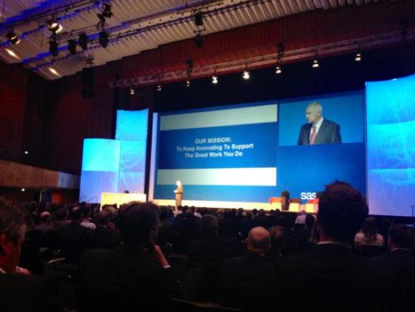 SAS Forum 2013 – Mit dem Leitthema Datenvisualisierung ein Erfolg! | VISUAL BUSINESS ANALYTICS 09-2013 | Scoop.it