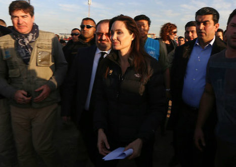 Angelina Jolie Pens Impassioned Op-Ed for NYT on Syria, Iraq Visit: 'I Was Speechless' | Middle East - Key Themes | Scoop.it