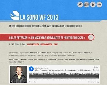 Radio Campus France | Plateformes audio | Scoop.it