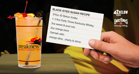 The Black-Eyed Susan | The Official Drink Of The Preakness | 2012 Preakness | Horse Racing News | Scoop.it