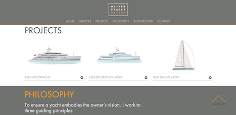 Oliver Stacey Design launch new website - Company News - SuperyachtTimes.com | superyacht industry news | Scoop.it