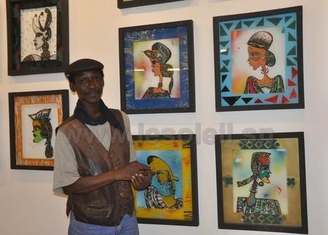 Exposition à Biscuiterie: Les « Aristos » de Serigne Ndiaye à l ... - Le Soleil | art move | Scoop.it